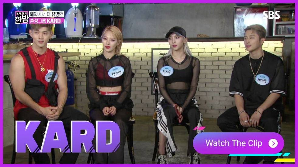 KARD, KPOP IDOL Interview